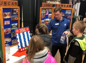2018 Camp Duncan Expo Booth